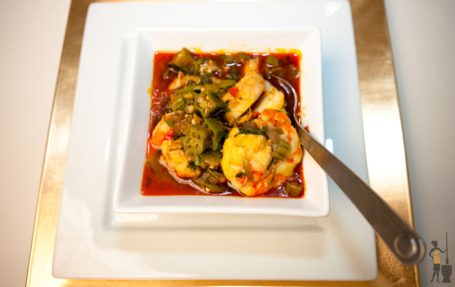 Fisherman's okra soup