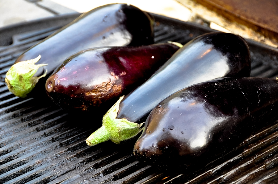Guest post from Israel: Aubergines (aka eggplants)