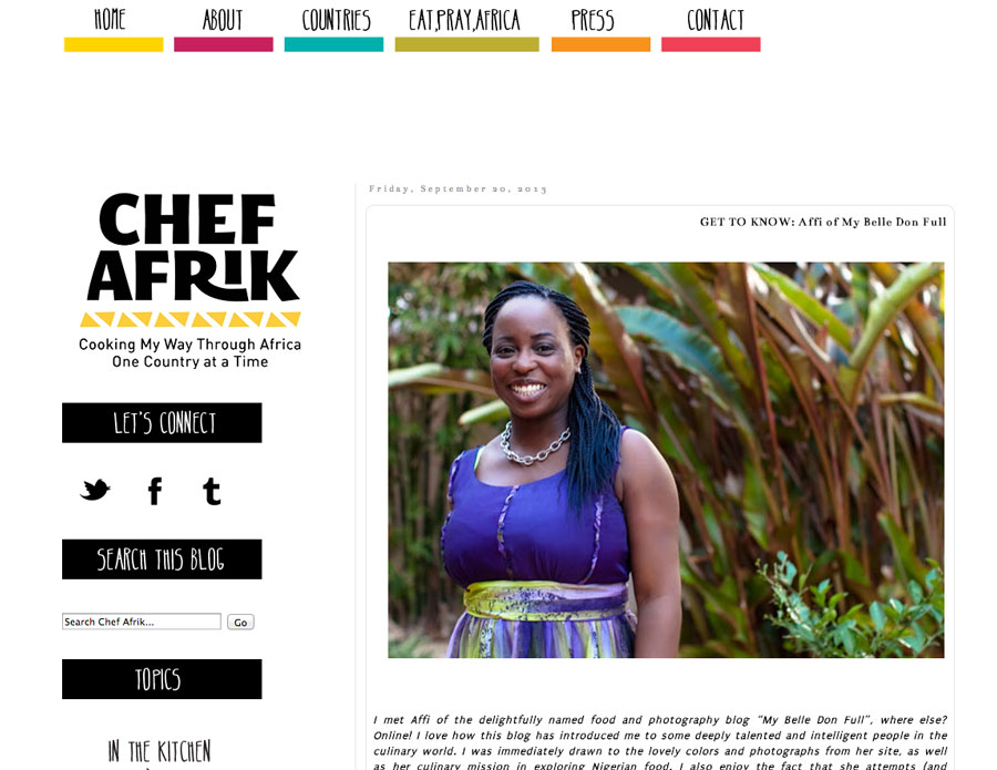 chefafrik feature