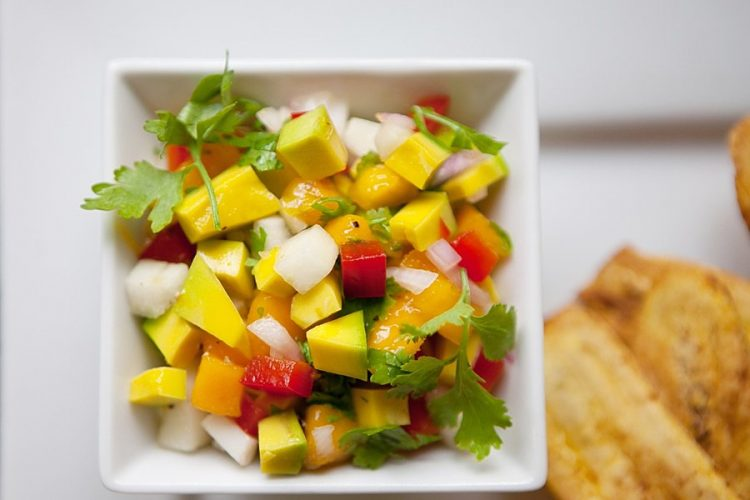 Mango & Avocado Salsa - My Belle Don Full